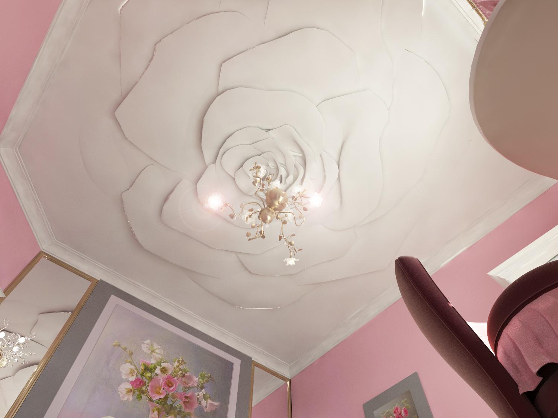 Как сделать потолок из гипса